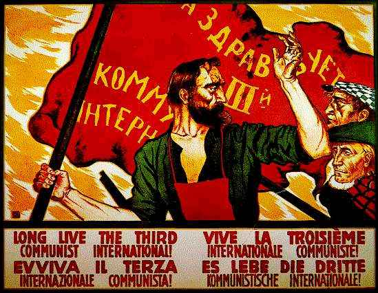 Comintern Poster